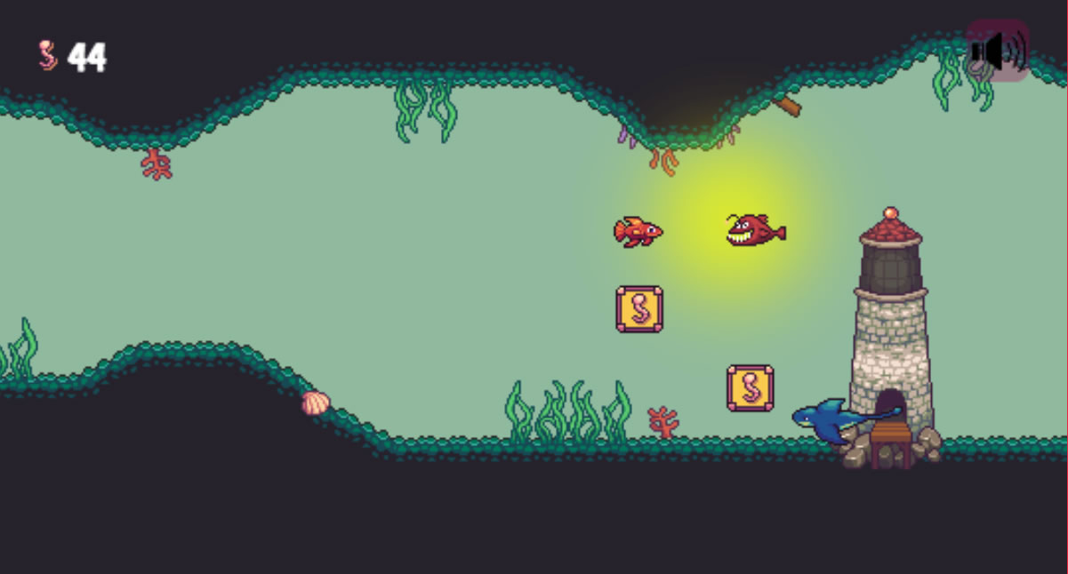 Genre Piranha is a fun and innovative fish game that helps students learn  and review genre. Students play as a small fish trying to escape larger  fish, ...